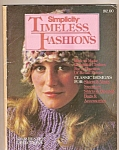 Click here to enlarge image and see more about item B0056: Simplicity timeless fashions -  1981