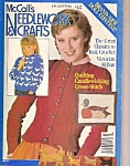 Click here to enlarge image and see more about item B0058: McCall's Needlework & crafts =  July/August 1983