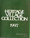 Click here to enlarge image and see more about item B0099: Department 56 Heritage village collection - 1997