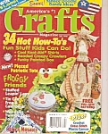 Click here to enlarge image and see more about item B0125: Crafts magazine -  July 1998