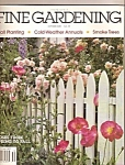 Click here to enlarge image and see more about item B0147: Fine Gardening -  October 1995