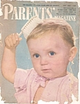 Click here to enlarge image and see more about item B0155: Parents' magazine-  May 1948