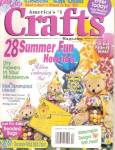 Click here to enlarge image and see more about item B0537: Crafts magazine-  July 1996