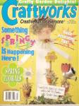 Click here to enlarge image and see more about item B0538: Craftworks magazine-  April 1997
