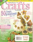 Click here to enlarge image and see more about item B0539: Crafts magazine-  August 1995