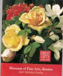 Museum of Fine Arts, Boston catalog -  1997 holiday