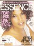 Click here to enlarge image and see more about item B0658: Essence Maazine -  April 2002