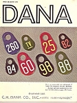 Click here to enlarge image and see more about item B0699: Dana Co. catalog for 1960 # 98
