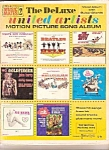 Click here to enlarge image and see more about item B0702: The Deluxe United Artosts  motion picture song album -