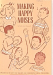Click here to enlarge image and see more about item B0703: Making happy noises - byBetty AnnRamseth - 1974