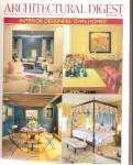 Click here to enlarge image and see more about item B1232: Architectural digest -  September 2001