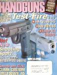 Click here to enlarge image and see more about item B1267: Handguns magazine-  May 1998