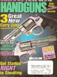 Click here to enlarge image and see more about item B1361: Handguns magazine -  January 1999