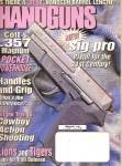 Click here to enlarge image and see more about item B1368: Handguns magazine -  February 1999