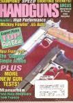 Click here to enlarge image and see more about item B1369: Handguns magazine -  December 1998