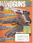 Click here to enlarge image and see more about item B1370: Handguns magazine  -   October 1998