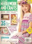 Click here to enlarge image and see more about item B1413: McCall's Needlework and crafts -  April 1992