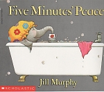 Click here to enlarge image and see more about item CB002: SCHOLASTIC BOOK~FIVE MINUTES PEACE~JILL MURPH