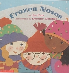 Click here to enlarge image and see more about item CB35: FROZEN NOSES~BY JAN CARR~DONOHUE~PRESCHOOL
