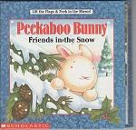 Click to view larger image of PEEKABOO BUNNY  FRIENDS IN THE SNOW (Image1)