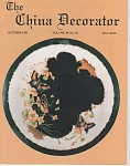 Click to view larger image of VINTAGE~THE CHINA DECORATOR~OCTOBER~1994 (Image1)