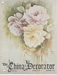 VINTAGE~THE CHINA DECORATOR~ NOVEMBER-1972