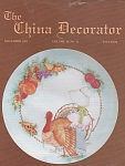 VINTAGE~CHINA DECORATOR~NOVEMBER~1993