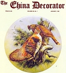 THE CHINA DECORATOR   ~JANUARY  1981