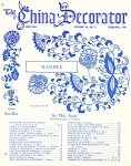 VINTAGE~THE CHINA DECORATOR ~FEBRUARY 1971