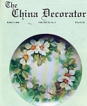 Click here to enlarge image and see more about item CD31990: CHINA DECORATOR  MARCH 1990