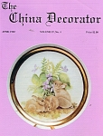 Click here to enlarge image and see more about item CD41992: CHINA DECORATOR  APRIL 1992