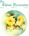 Click here to enlarge image and see more about item CD41996: CHINA DECORATOR APRIL  1996