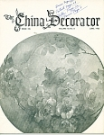 THE CHINA DECORATOR  Vintage MARCH,1965