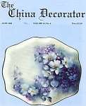 Click here to enlarge image and see more about item CD61988: CHINA DECORATOR  JUNE 1988