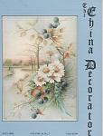 VINTAGE~CHINA DECORATOR~JULY~1993