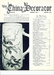 THE CHINA DECORATOR vintage JANUARY,1970