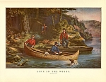 Click here to enlarge image and see more about item CI046: CURRIER AND IVES  STARTING OUT