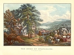Click here to enlarge image and see more about item CI065: CURRIER AND IVES- THE HOME OF EVANGELINE