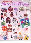 Click here to enlarge image and see more about item CR903901: NEEDLECRAFT MERRY LITTLE THINGS PLASTIC CANVA