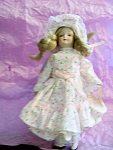 Click here to enlarge image and see more about item DOLL2: RUSS~ MARY HAD A LITTLE LAMB~7 1/2IN