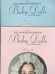 Click here to enlarge image and see more about item DOLLS35A: BABY DOLLS~2 BOOKS~1~2~MILDRED SEELEY