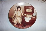 Click here to enlarge image and see more about item ECH011003D: Gorman Jumeau Tete 1898 French Doll Plate