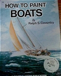 Click here to enlarge image and see more about item FB98: FOSTER BOOK HOW TO PAINT BOATS BOOK 98