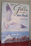 Click here to enlarge image and see more about item FB204: FOSTER GULLS AND OTHER BIRDS by ENA K. GRANT