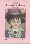 Click here to enlarge image and see more about item GERDOLLS1: ANTIQUE DOLL BOOK~THE TREASURY OF GERMAN DO