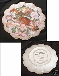 Click here to enlarge image and see more about item HA7577: FRANKLIN MINT~VICTORIAN ROSE BOUQUET~WILLARDS