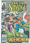 Click here to enlarge image and see more about item J00017: Doctor Strange - Sorcerer Supreme  #3  1989
