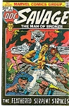DOC SAVAGE 1972 #2 Marvel The Man of Bronze