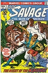 Click here to enlarge image and see more about item J0004: Doc Savage - The Man of Bronze #5    1973