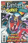 ;Fantastic Three Jan. 95   #384 -Marvel comics